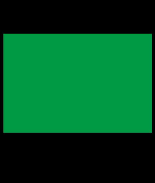 "Rowmark ADA Alternative Bright Green 1/16"" Engraving Plastic"