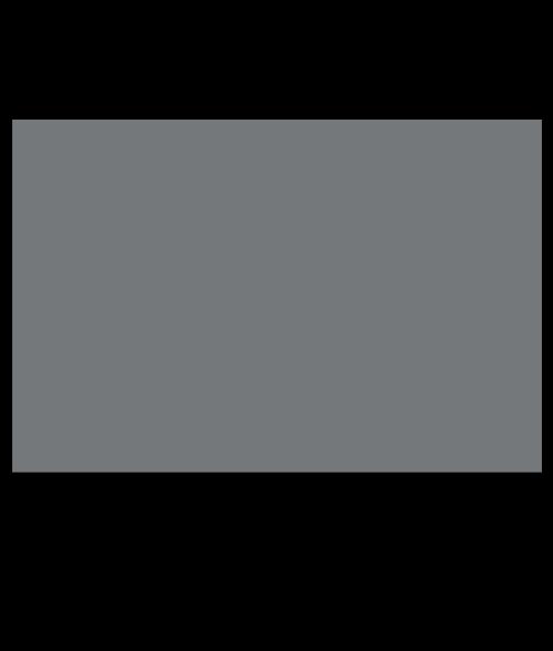 "Rowmark ADA Alternative Grey 1/8"" Engraving Plastic with Adhesive (Quarter Sheet)"