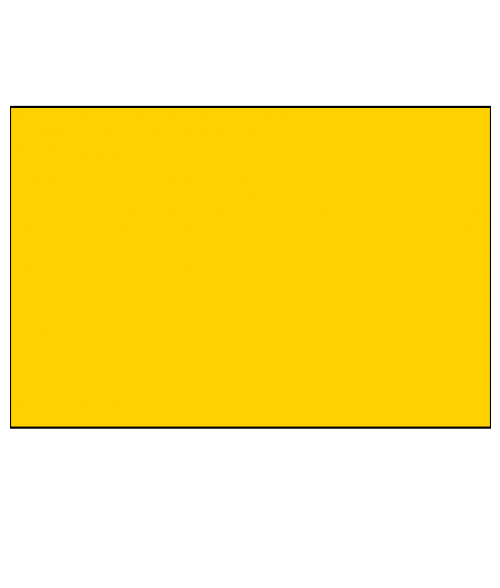 "Rowmark ADA Alternative Yellow 1/8"" Engraving Plastic"