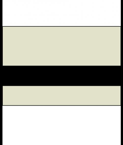 """Rowmark Lacquers Parchment/Black 1/16"""" Engraving Plastic"""