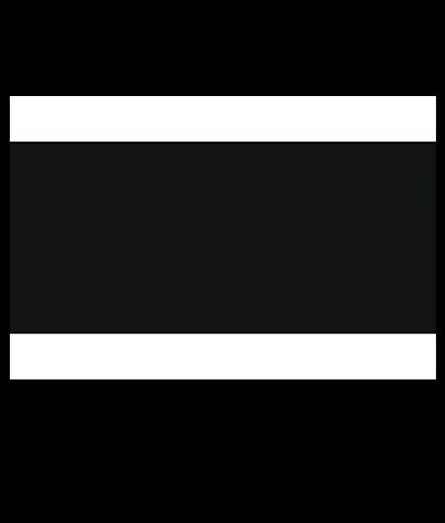 "Rowmark Lacquers White/Black/White 1/8"" Engraving Plastic"