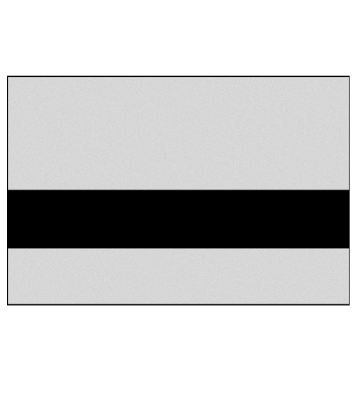 "Rowmark NoMark Plus Metals Smooth Silver/Black 1/16"" Engraving Plastic"