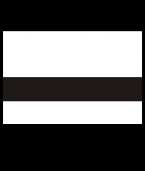 """Rowmark FlexiColor Matte White/Black .020"""" Engraving Plastic"""