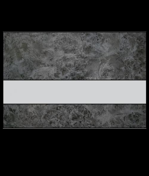 "Rowmark FlexiBrass Harbor Grey/Silver .020"" Engraving Plastic"