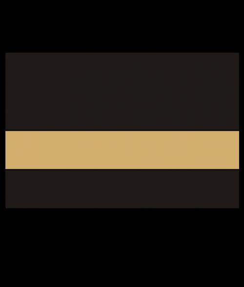 """Rowmark FlexiBrass Matte Black/Brass .020"""" Engraving Plastic"""