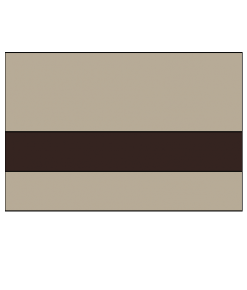 "Rowmark Textures Bermuda Tan/Dark Brown 1/16"" Engraving Plastic"