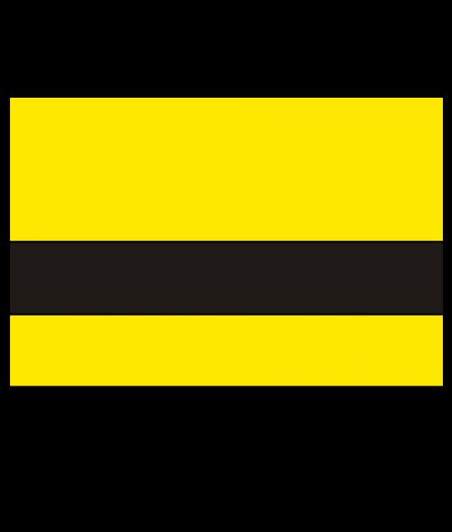 "Rowmark Textures Yellow/Black 1/16"" Engraving Plastic"