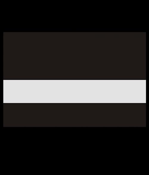 "Rowmark LaserMark Reverse Gloss Clear/Black 1/16"" Engraving Plastic"