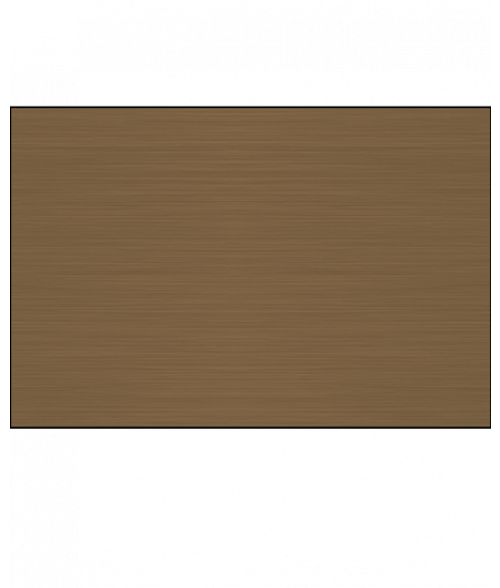 Rowmark lasermark reverse matte clear brushed deep bronze for Plaque ondulee polycarbonate transparent