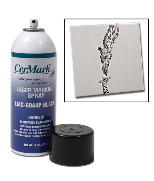 Cermark Lmm6044 12oz Tile Glass Marking Spray Paint Fill