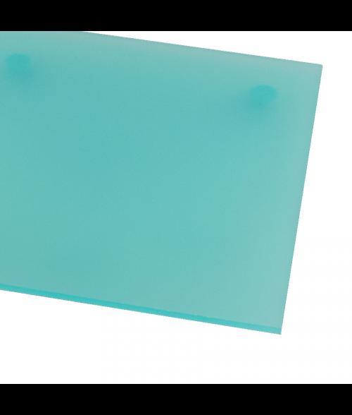 "Rowmark ColorHues Caribbean 1/8"" Translucent Engraving Plastic"