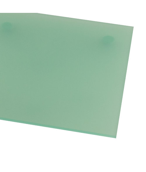 "Rowmark ColorHues Kiwi 1/8"" Translucent Engraving Plastic"
