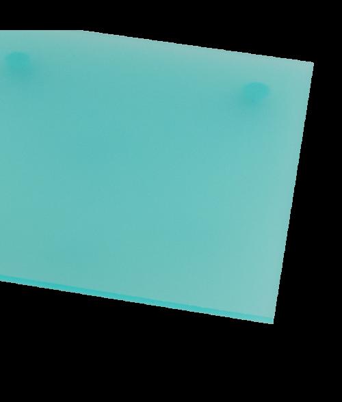 Rowmark ColorHues Caribbean Translucent Engraving Plastic