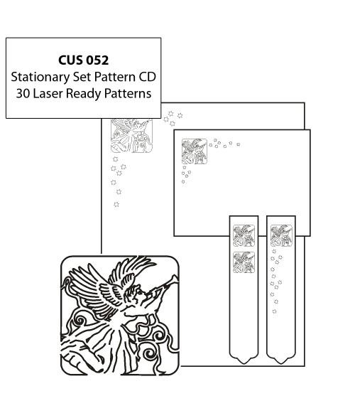 LaserBits CorelDRAW Design Patterns (Stationery Set)