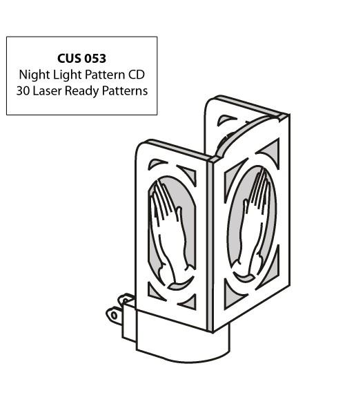 LaserBits CorelDRAW Design Patterns (Night Lights)