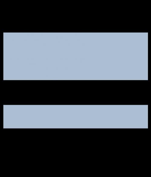 """IPI Euro Color Matte Stone Blue/Black 1/16"""" Engraving Plastic"""