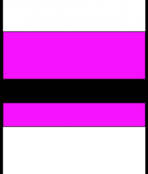 "IPI Electrics Outrageous Pink/Black 1/16"" Engraving Plastic"