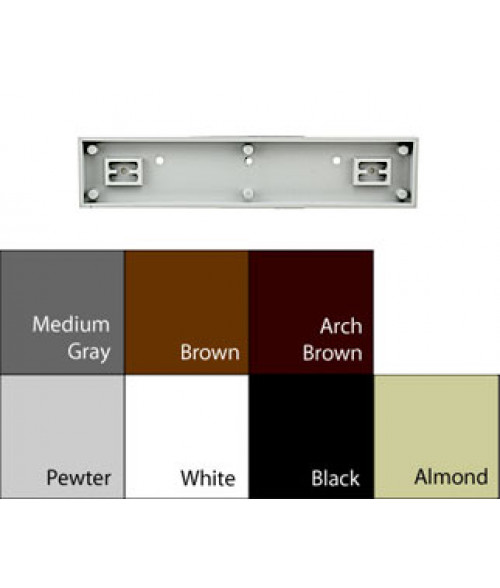 Jrs Architectural Frames Pewter Grey 1 34 X 9 18 Square Plastic