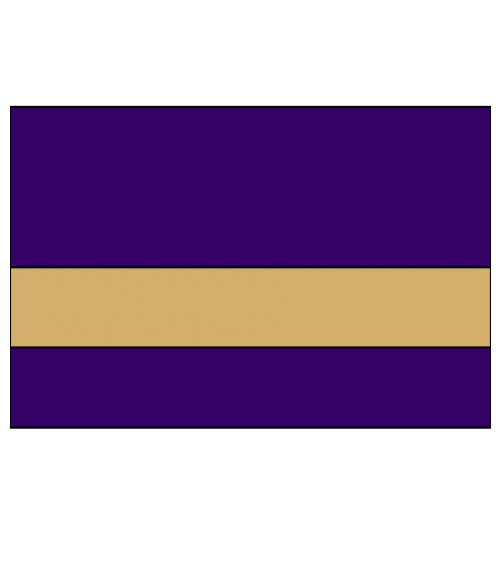 "IPI Gold Coast Matte Purple/Bright Gold 1/32"" Engraving Plastic"