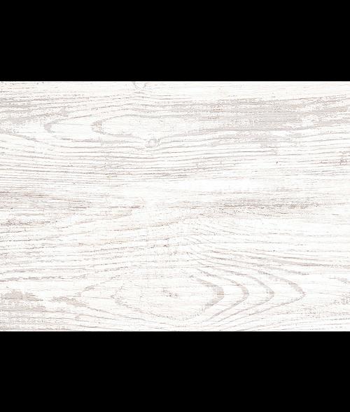 """Rectangular White 3.5"""" x 5"""" Faux Wood Block Sign"""