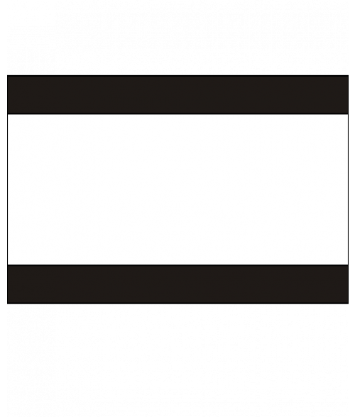 Rowmark Heavy Weights Black/White/Black Engraving Plastic