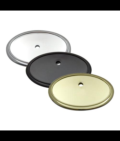 Image Maker Oval Plastic Badge Frame