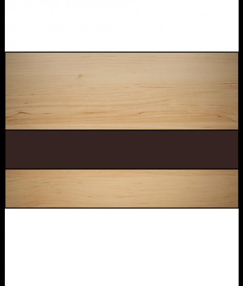 """Rowmark LaserMax Cashew/Dark Brown 1/16"""" Engraving Plastic"""