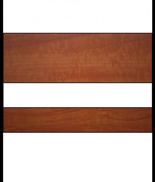 "Rowmark LaserMax Cinnamon Stick/White 1/16"" Engraving Plastic"
