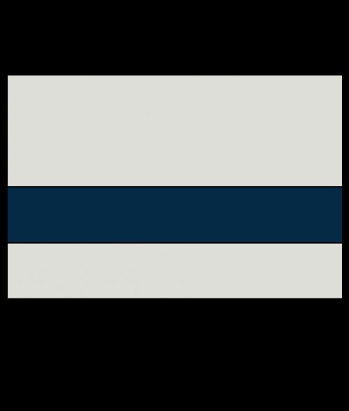 "Rowmark LaserMax Light Grey/Marine Blue 1/16"" Engraving Plastic"