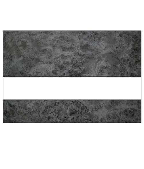 "Rowmark LaserMax Harbor Grey/White 1/16"" Engraving Plastic"