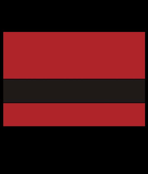 "Rowmark LaserMax Bright Red/Black 1/16"" Engraving Plastic"