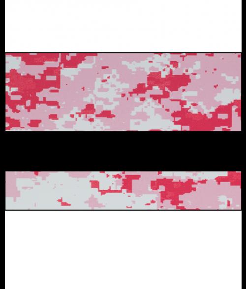 """Rowmark LaserMax Digicam Pink/Black 1/16"""" Engraving Plastic"""