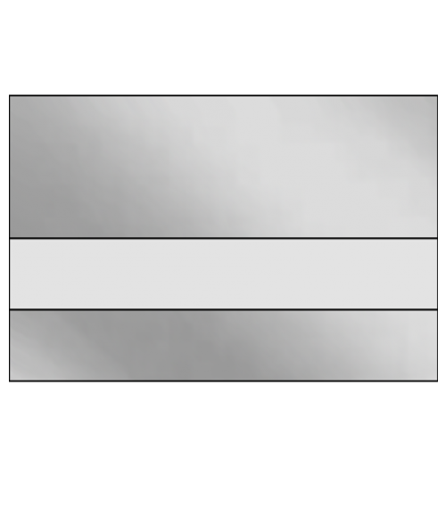 Ipi lazermirr gloss clear silver mirror 1 32 reverse - Plaque pvc transparent ...