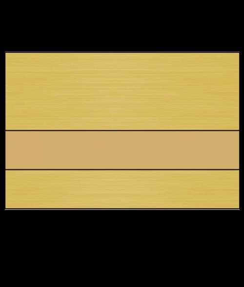 Rowmark MetalGraph Plus Brushed Antique Gold/Gold Engraving Plastic