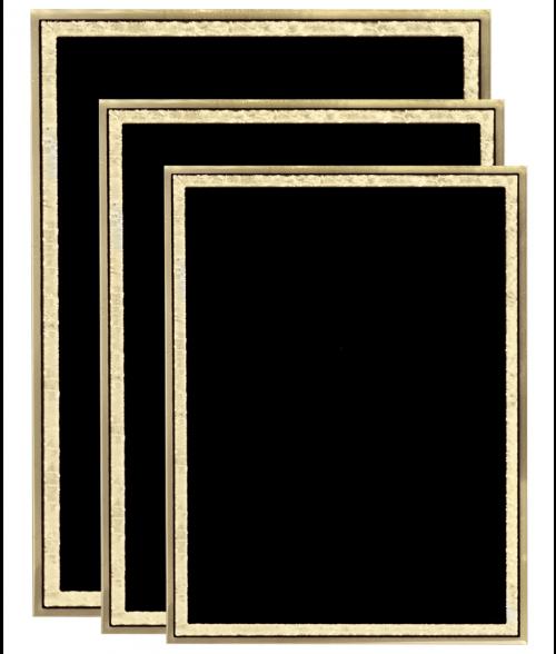 Original Series Black Plaque Plate