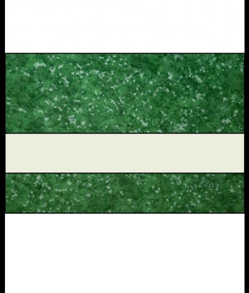 "IPI Architectural Stones Gloss Verde Green Marble/Bone White 1/16"" Engraving Plastic"