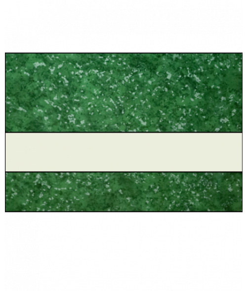 "IPI Architectural Stones Verde Green Marble/Bone White 1/16"" Engraving Plastic"
