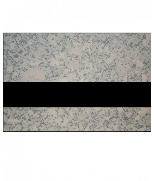 "IPI Architectural Stones Glacier Blush Marble/Black 1/16"" Engraving Plastic"