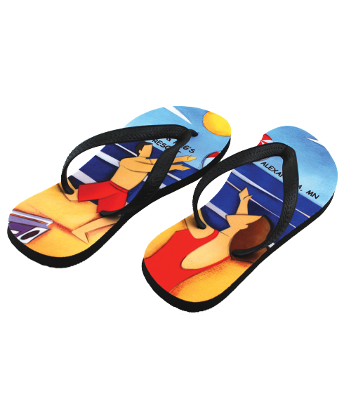 474675818 Adult Flip Flops (Large) - Footwear - Clothing   Wearables ...