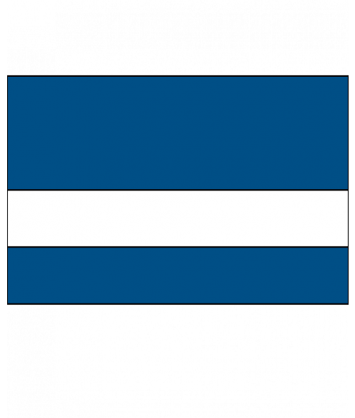 Scott-Ply Colors Sapphire Blue/White Engraving Plastic