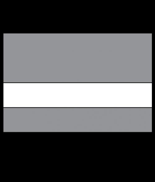Scott-Ply Colors Smoke Grey/White Engraving Plastic