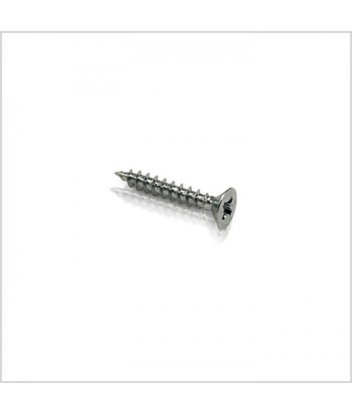 "Stainless Steel #6 x 1-1/2"" Phillips Flat Head Screw"
