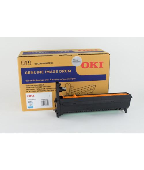 OKI C711WT / C711 Cyan Image Drum