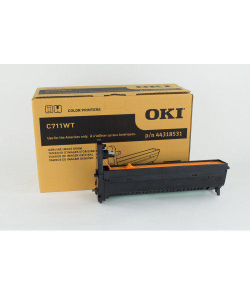 OKI C711WT / C711 White Image Drum