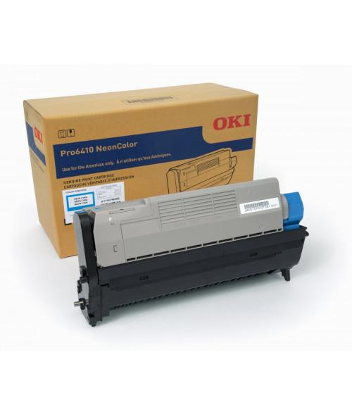 OKI® Pro6410 Neon Cyan Cartridge