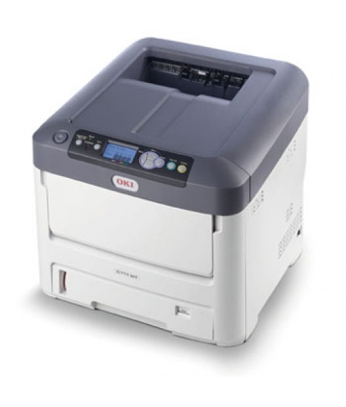 OKI® C711WT Textile Transfer Printer (White Toner)