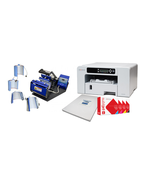 Sawgrass Virtuoso SG400 Sublimation Printer and Mug Press Combo Package