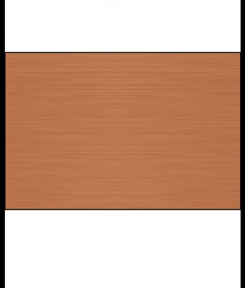 Satin Copper .025 Lacquered Aluminum Sheet