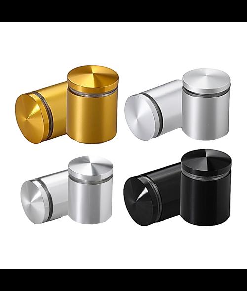 """MBS Anodized Aluminum 1"""" Diameter/1"""" Barrel Length Stand-Offs"""