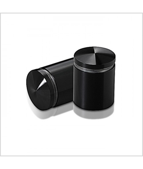 "MBS Black Anodized Aluminum Stand-Off (1"" Diameter 1"" Barrel Length)"